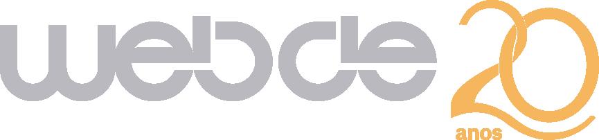 Logotipo Webde 20 Anos